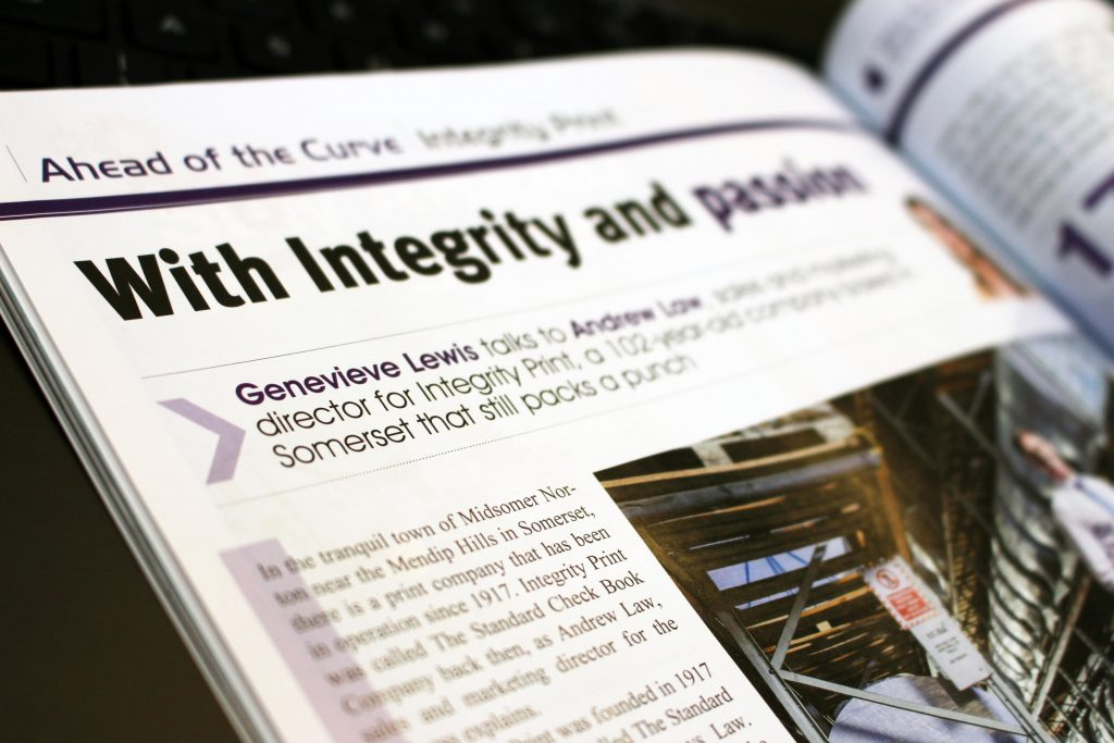 Print Monthly Article Integrity Print