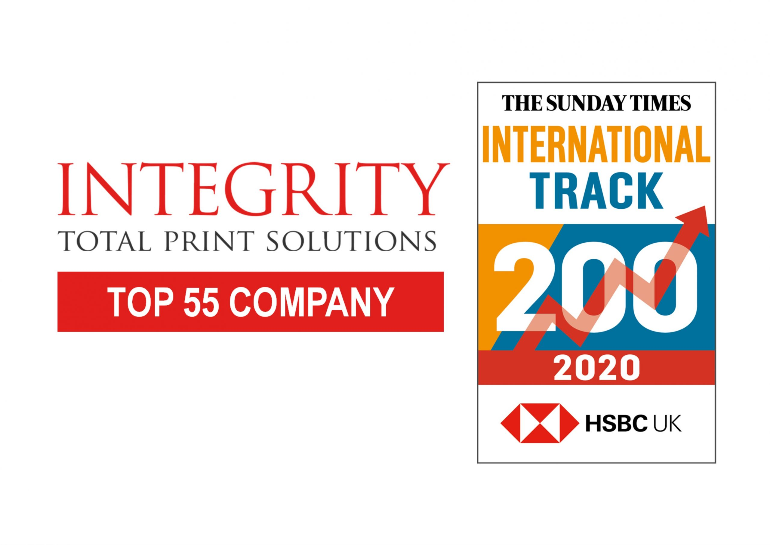 Integrity in top 55 of Sunday Times HSBC International Track 200