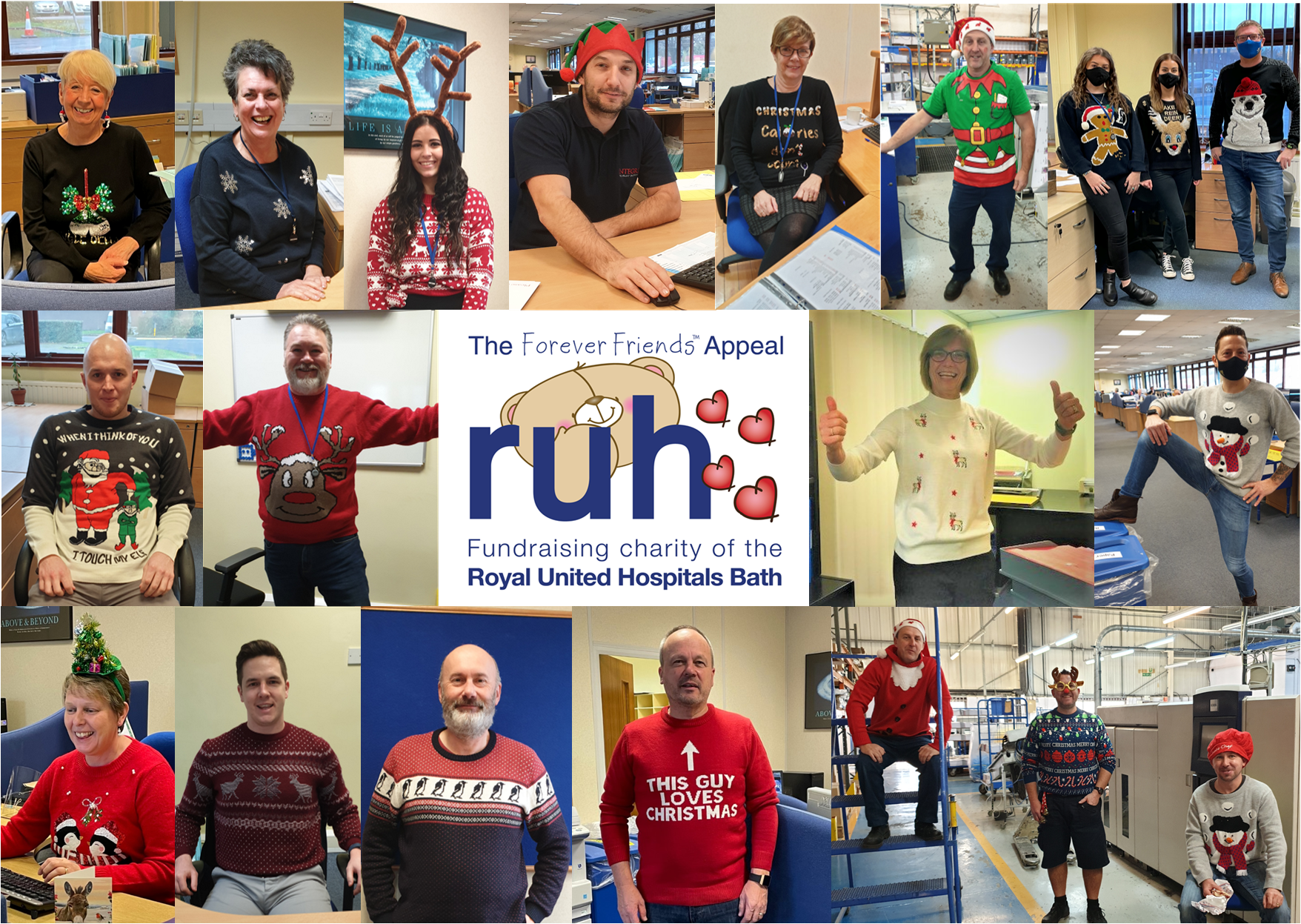 Integrity's Christmas Jumper Week Raises Funds for NHS Charity